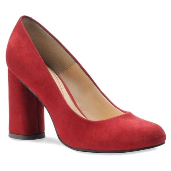 5d70f7b83453 isola Shoes - Isola Eleni ruby red Suede pumps